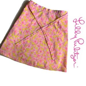 vintage [Liza by Lily Pulitzer] wrap skirt